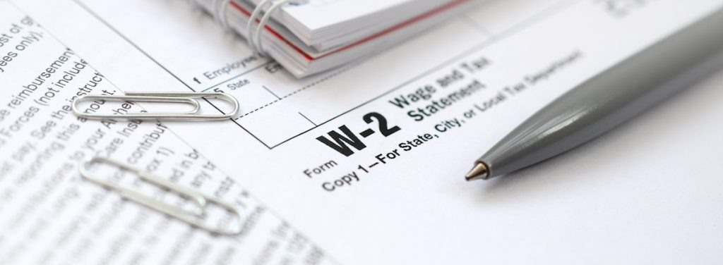 Employee tax status filing