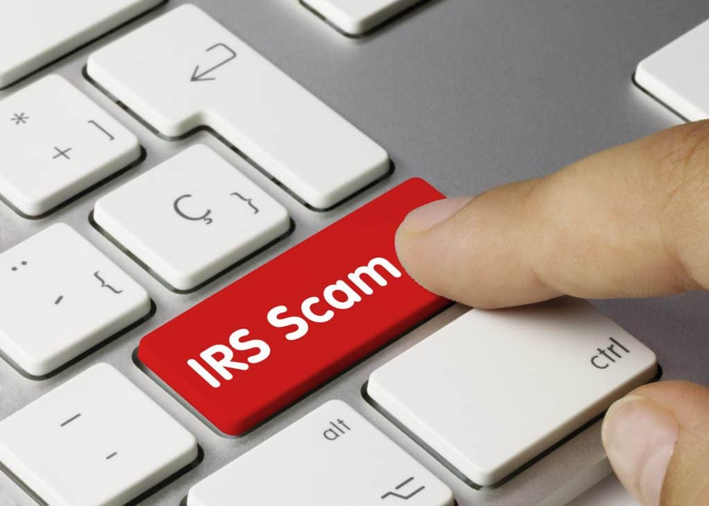 irs letter scams