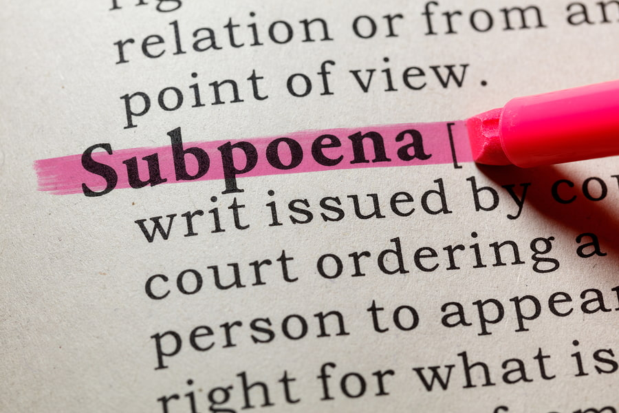 Getting a subpoena is scary, but with Silver Tax's help you have nothing to worry about