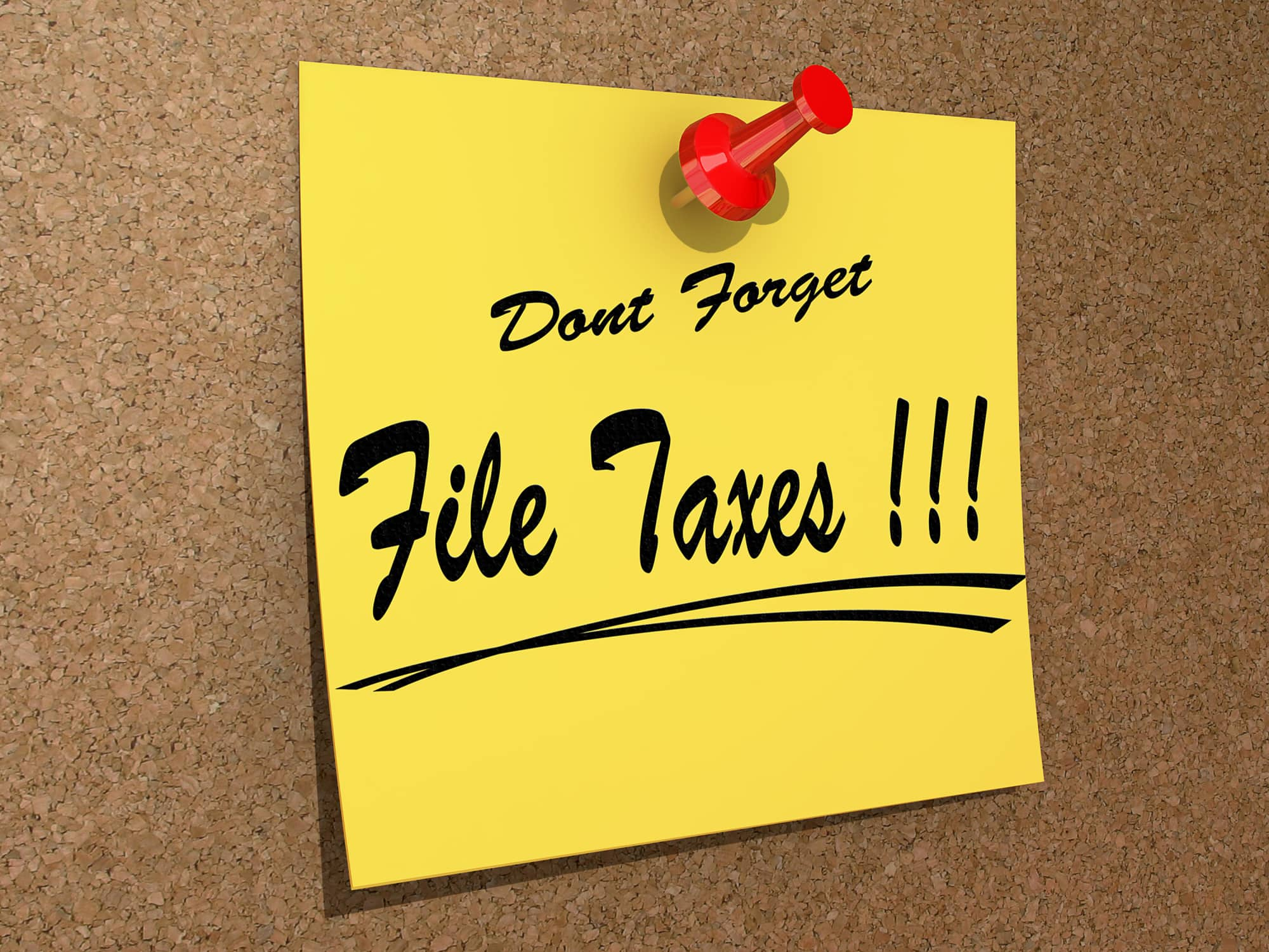 what happens if you just don't file taxes