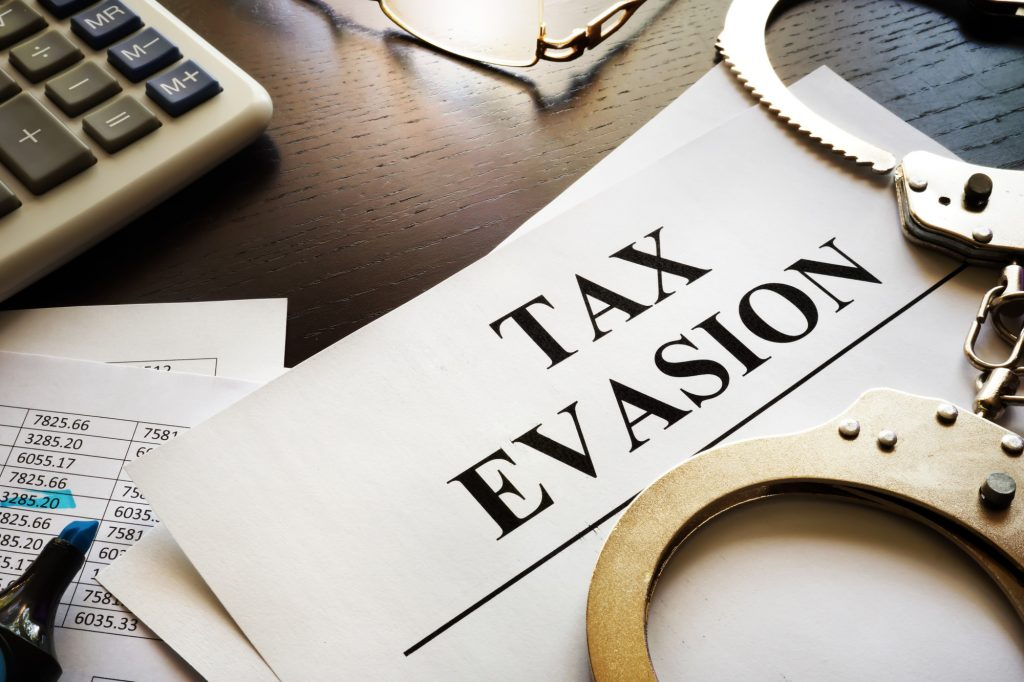 is tax evasion a felony