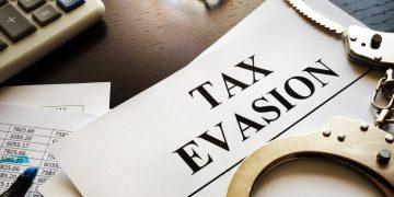 is tax evasion a felony