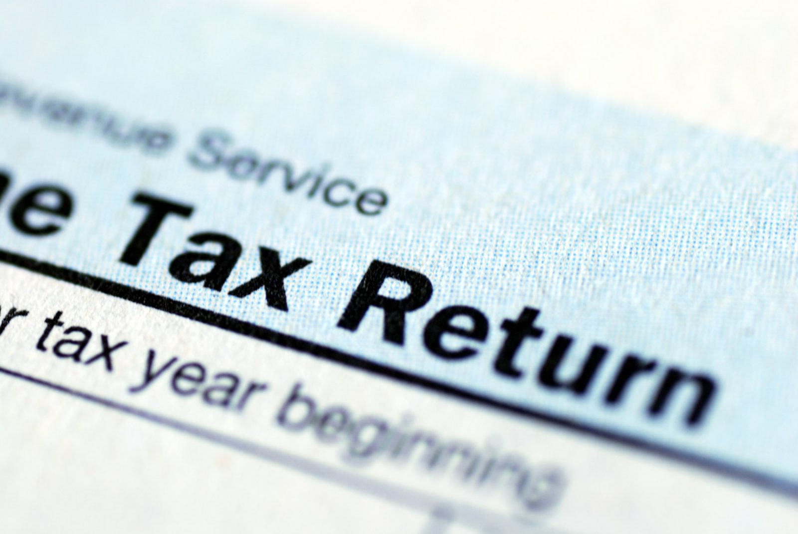 not filing taxes for 10 years