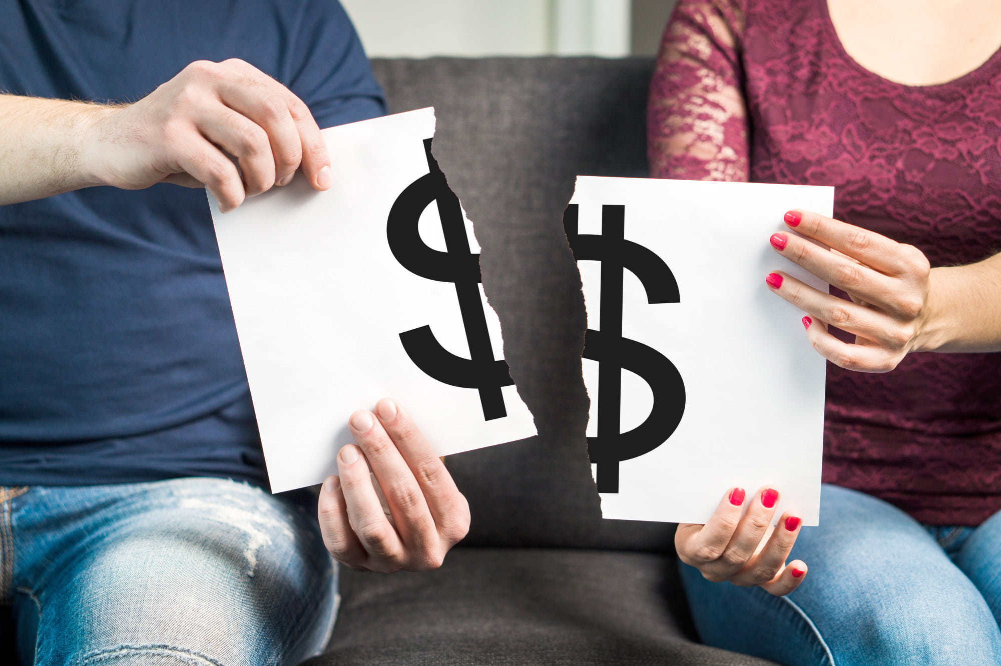 injured spouse with tax debt