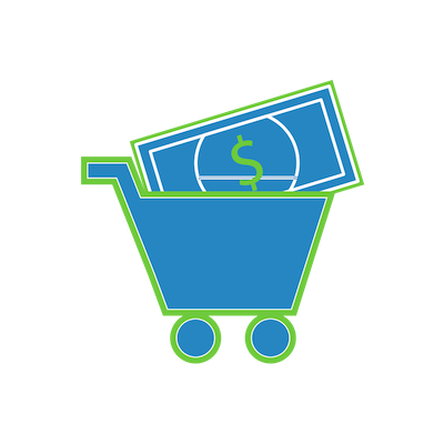 shopping-cart-with-money