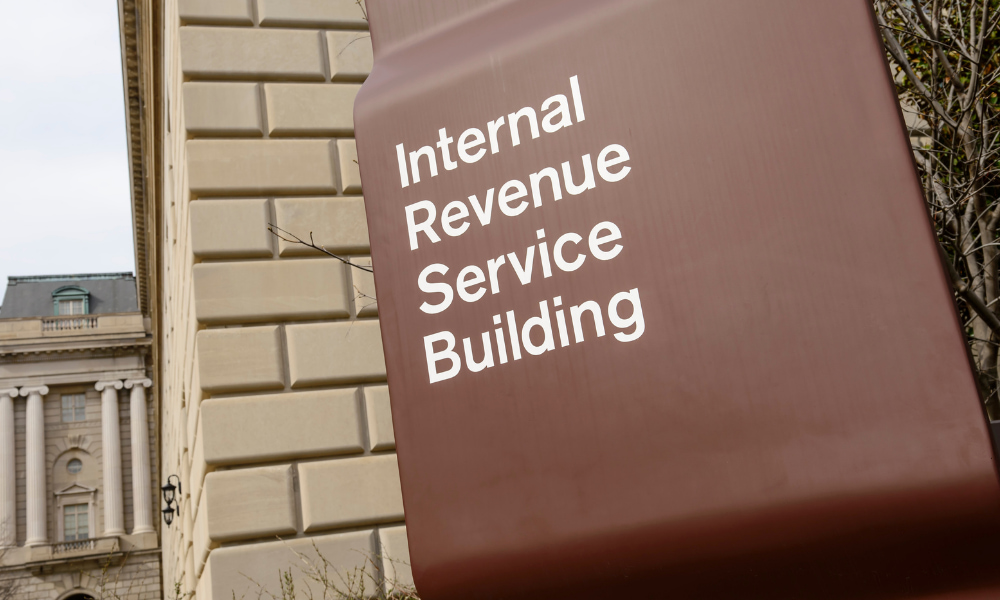 IRS building where you can report offshore tax evasion
