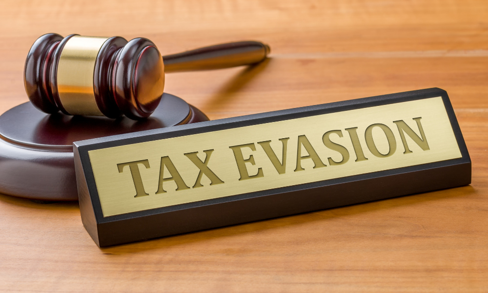 tax evasion for not paying offshore taxes