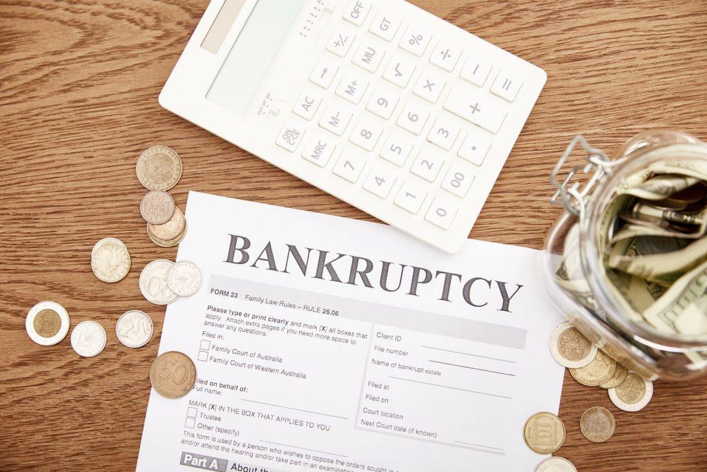 Bankruptcy bankruptcy