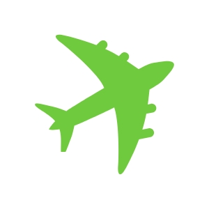 non-moving-green-plane