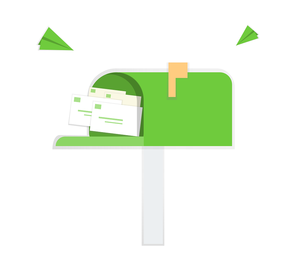 irs audit in mail icon