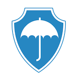 safety symbol with unbrella