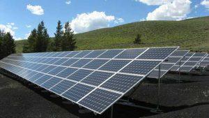 solar pannels atop a home