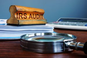 irs small business audit concept
