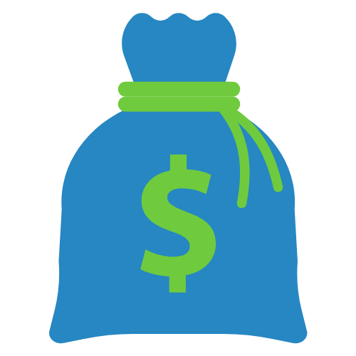 tax bag icon