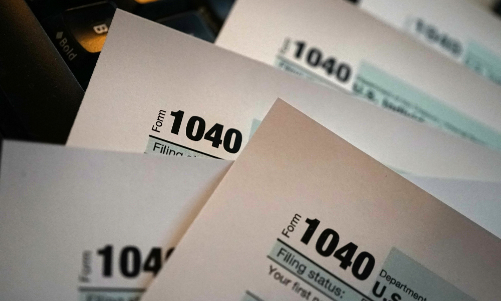 small business tax forms including 1040