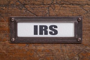 irs levy release concept