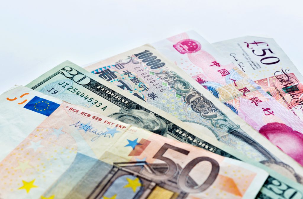 International foreign currencies