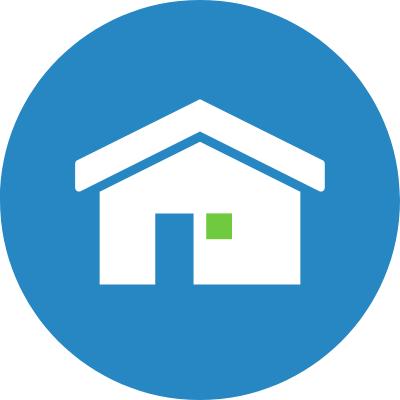 round rental property icon
