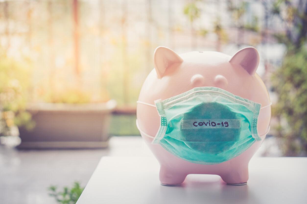 covid-19 money concept