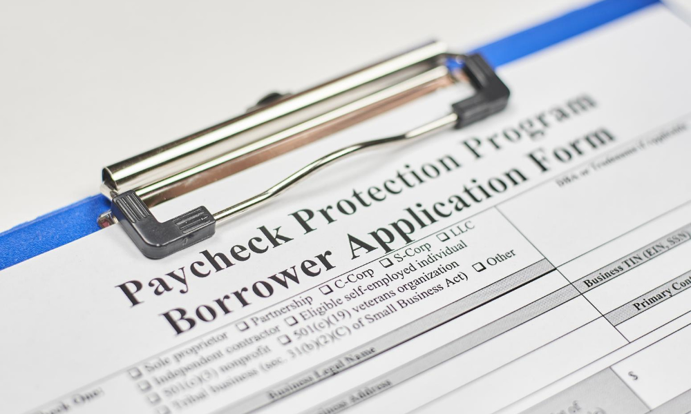 unfiled ppp borrower application form