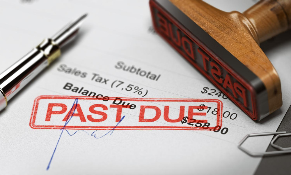 Debt past due forgiven due to the People First Initiative