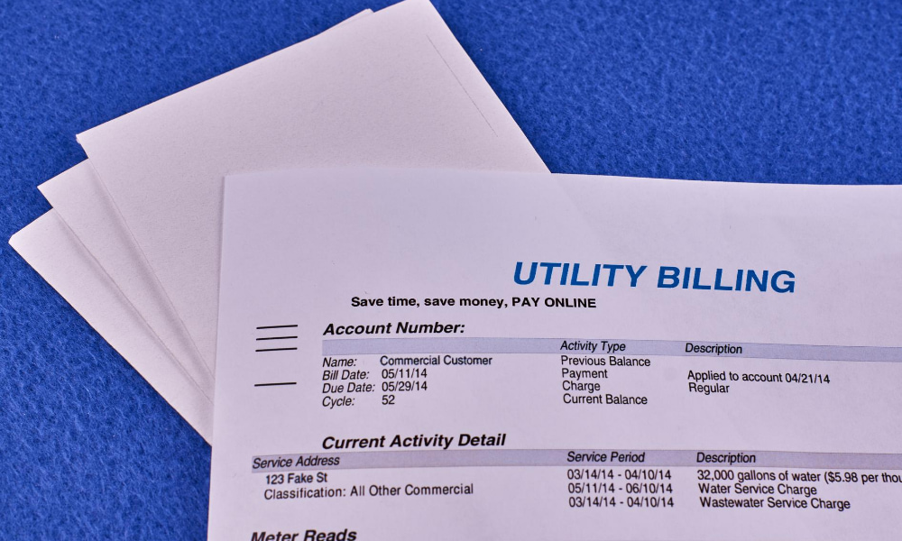 paying utility bill to follow ppp loan terms.