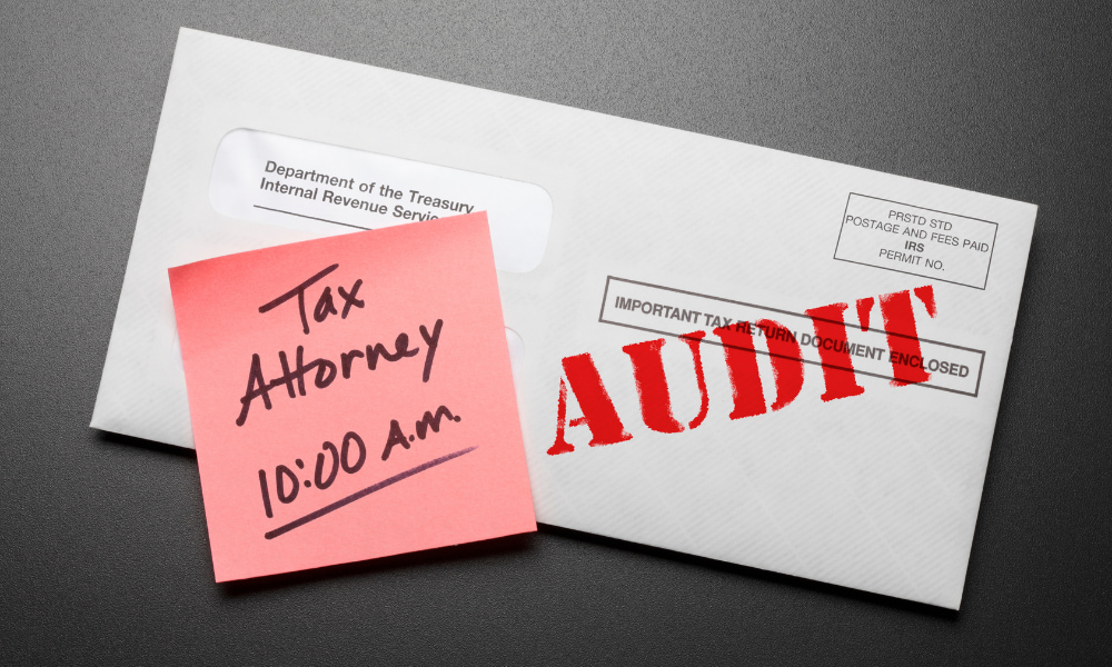 mail notice of an audit