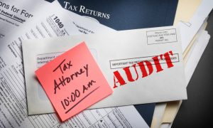 tax audit notice that requires tax audit defense services