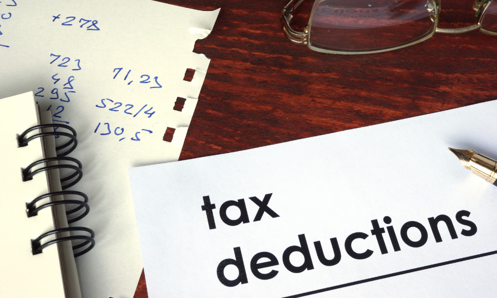 tax deductions in relation to 2020 tax brackets