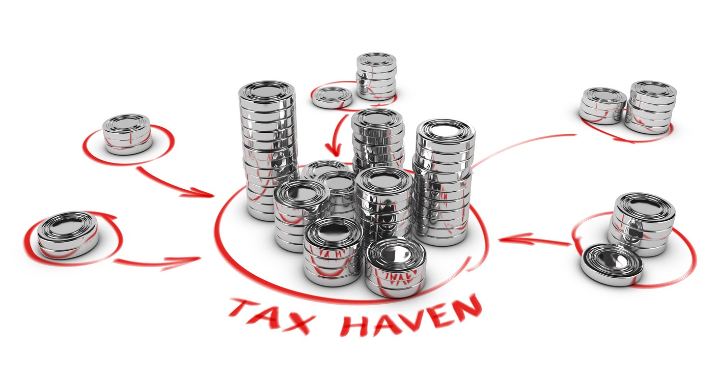 offshore tax haven concept