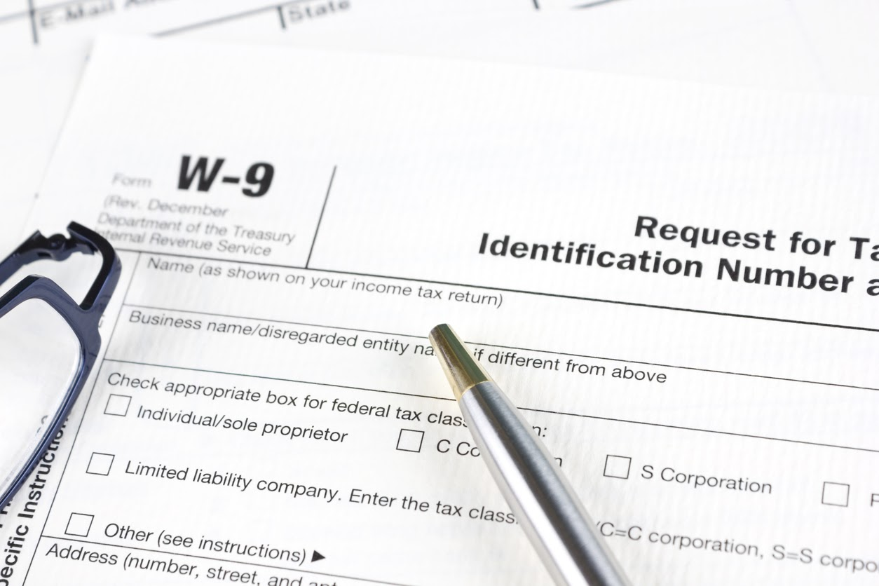 unfiled form w-9