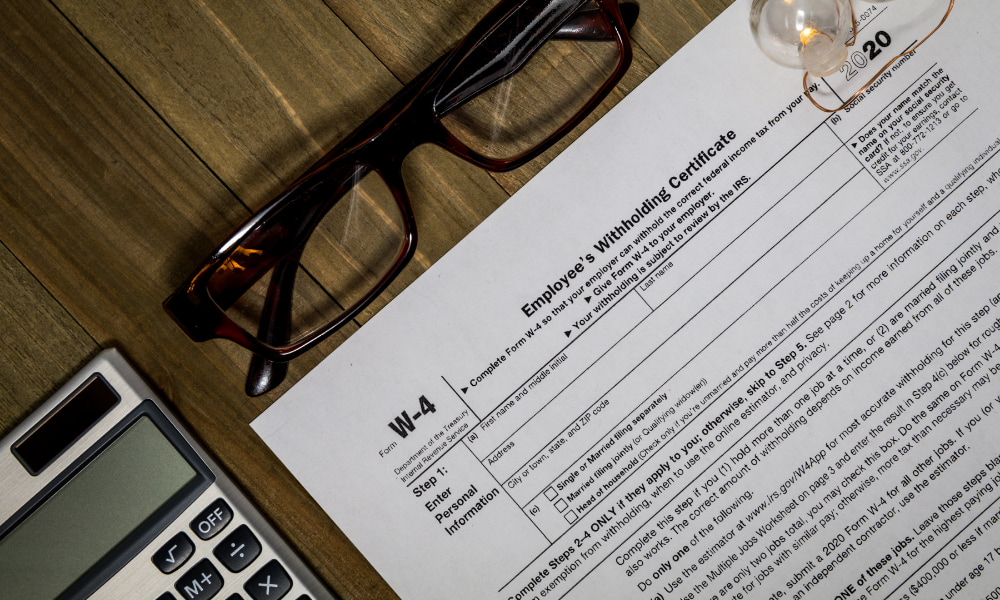 withholding certificate in form w-4