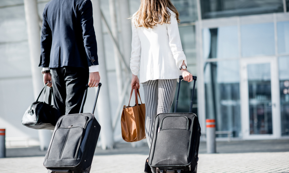 employees traveling before business travel expense deductions