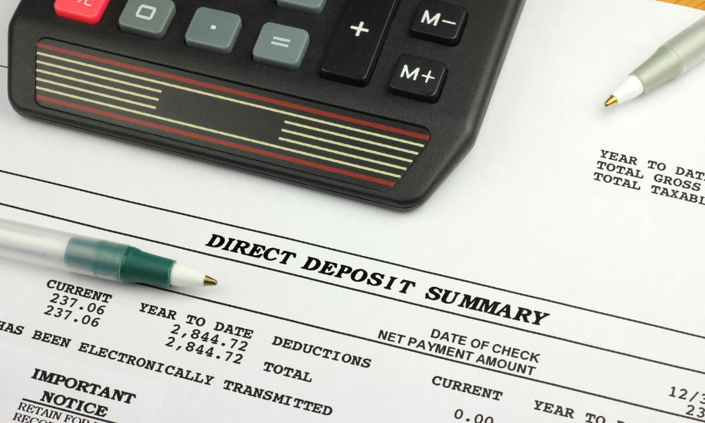 confirming direct deposit for irs partial payment installment agreement