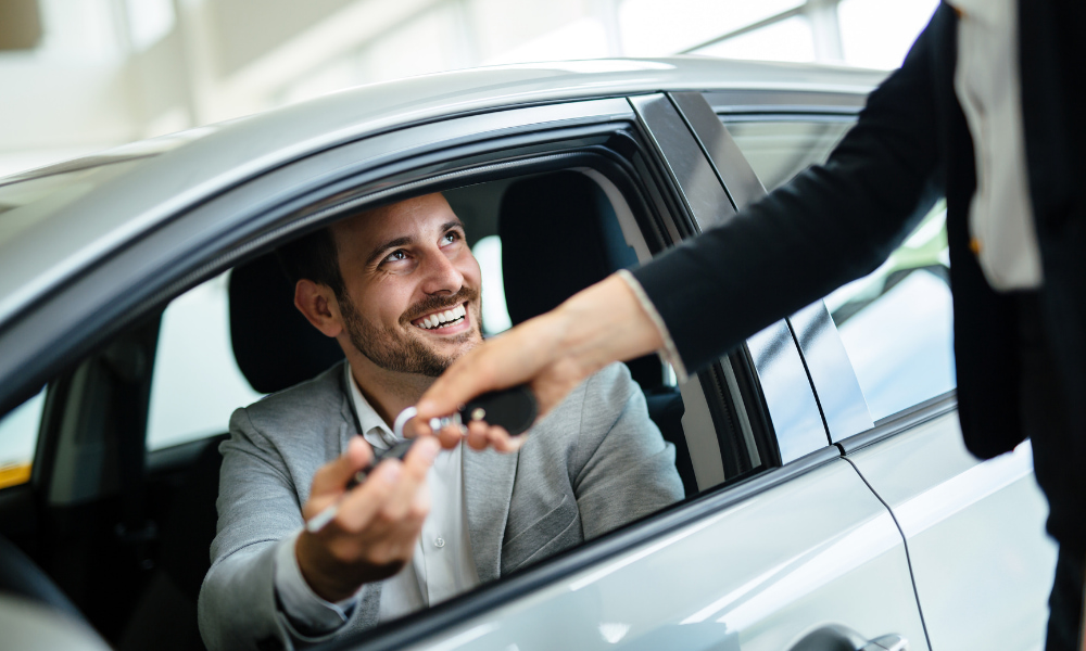 employee renting a car as part of business travel expense deductions
