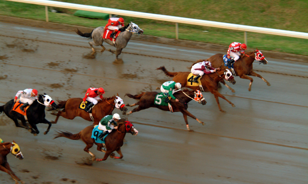horse race where potential winnings must be filed under form w-2g