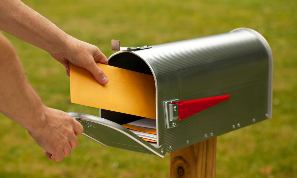 taxpayer sending mail to the irs included in taxpayer bill of rights