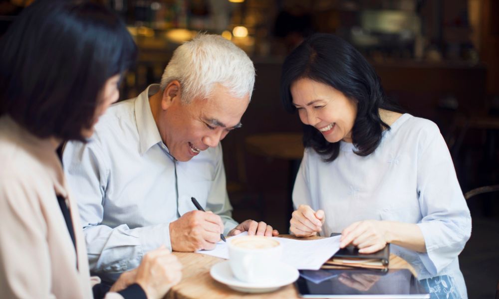 elderly couple affected by the Further Consolidated Appropriations Act in 2020