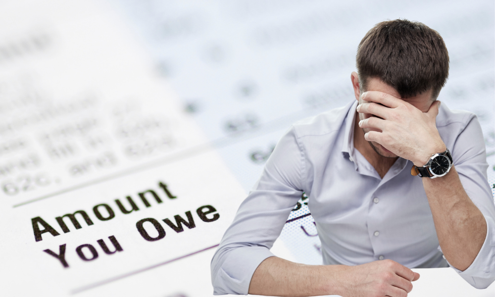 man given irs underpayment penalty