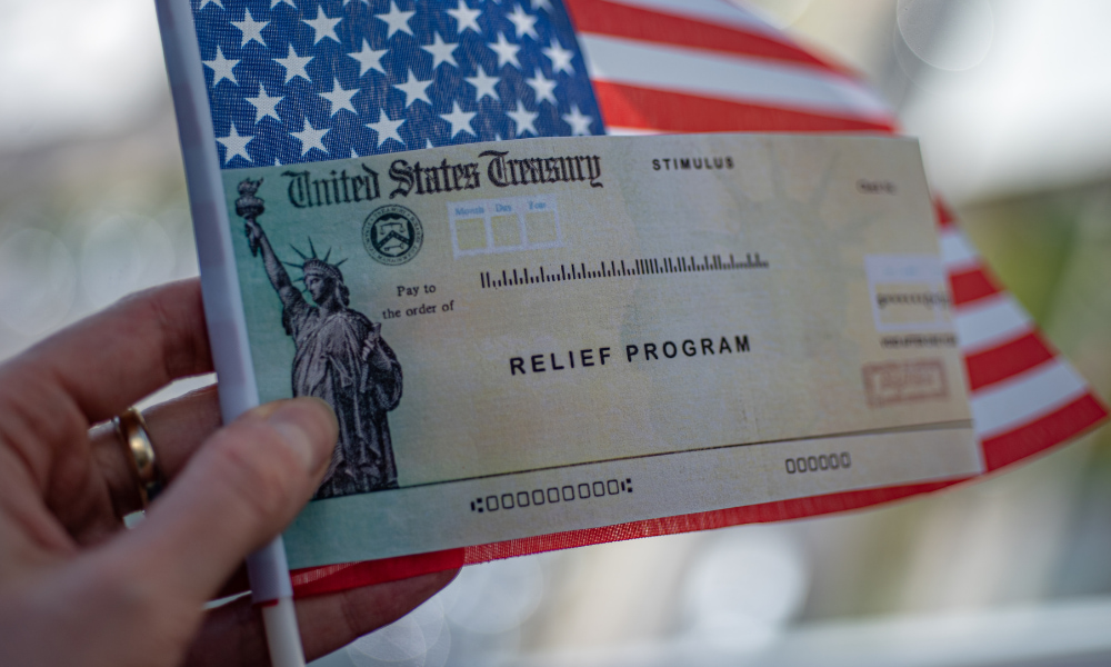 second stimulus check from irs in 2021