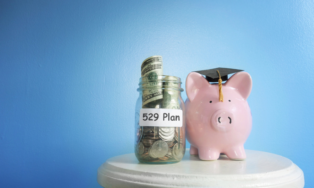 529 plan tax benefits by state concept