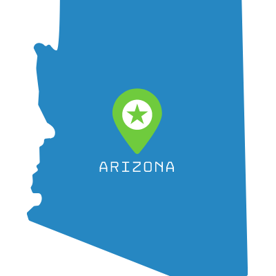 silver tax arizona icon