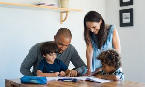Children with Parents Before Filing Child or Dependent Tax Credit