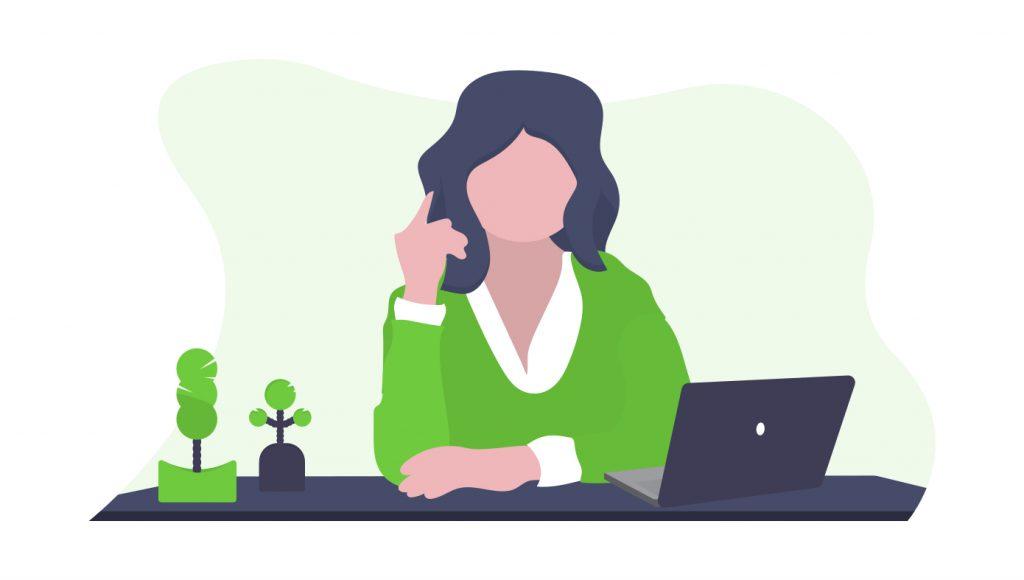 woman tax specialist